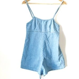 NWOT BDG Urban Outfitters chambray denim romper
